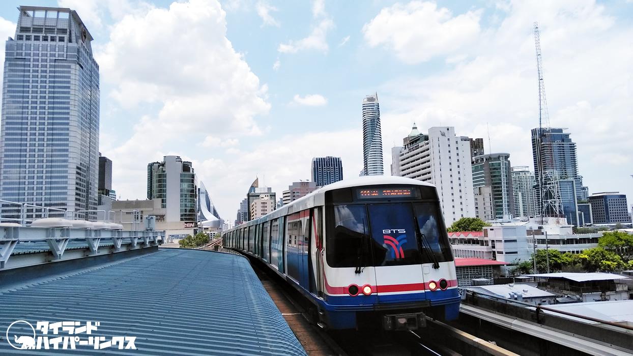 タイ:バンコクBTS、社会的距離のために運行頻度をあげる
