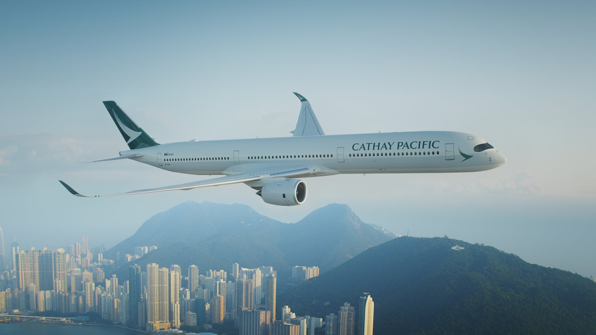 香港:キャセイ、乗客は1日平均755人