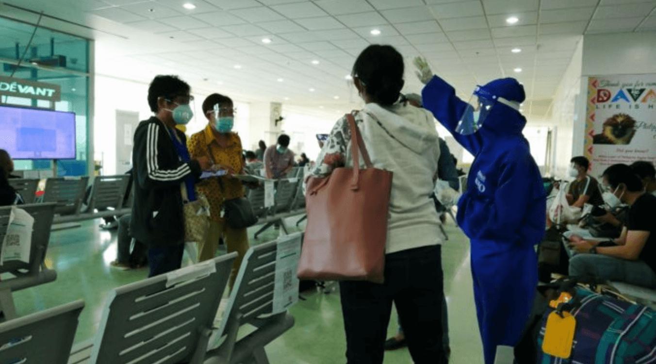 フィリピン:ダバオ国際空港の到着客が偽のPCR検査陰性証明書提出して逮捕者続出