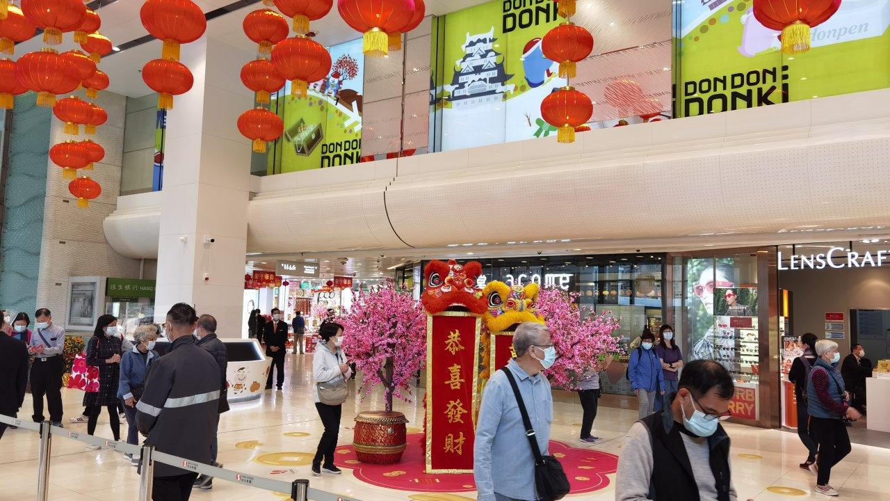 香港:小売業総売上高、2年ぶりに上昇
