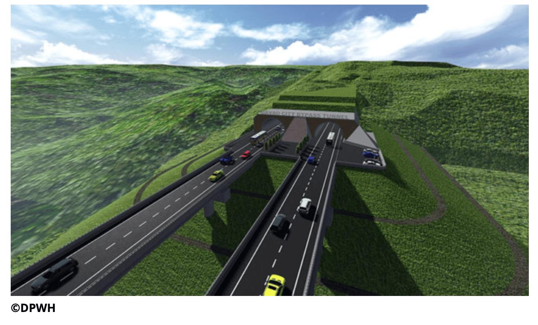 フィリピン:日系支援のダバオ市バイパストンネル工事、7月に着工予定