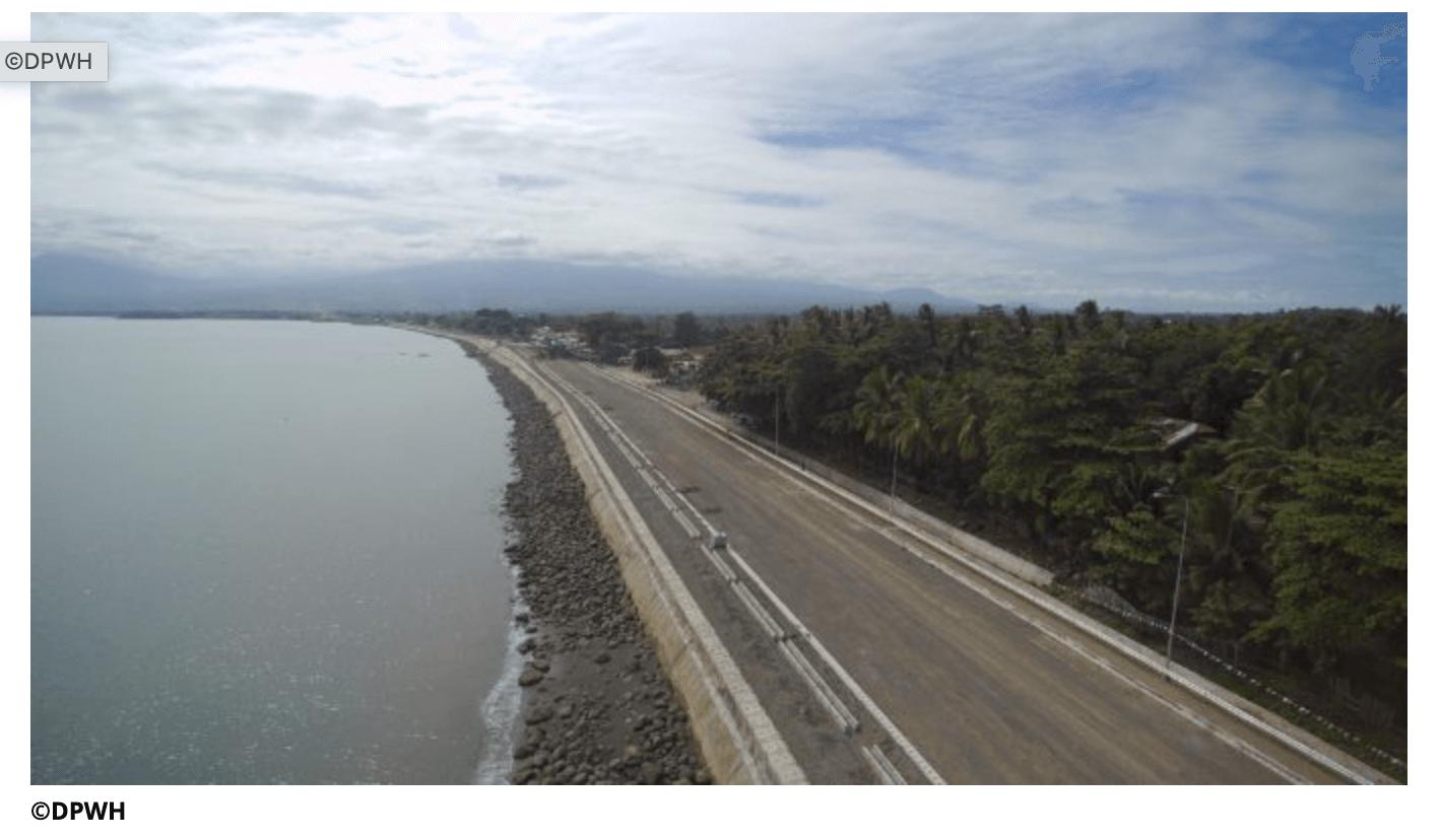 フィリピン:大幅に遅延していたダバオ市沿岸道路の橋梁工事、ようやく目途が付き最終段階へ